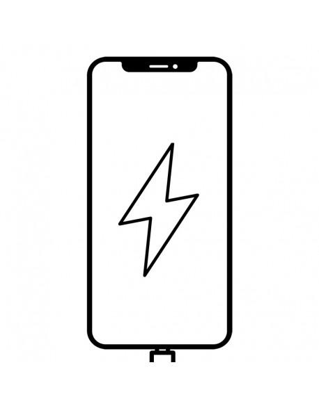 iPhone X laddkontakt